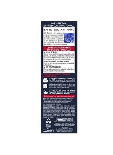 L'Oréal Paris Revitalift Lazer Saf Retinol Gece Serumu 30 ml Renksiz